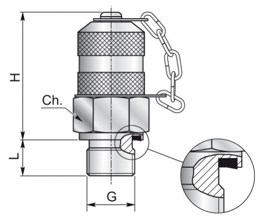 hydrotek beyond hydraulics screw test couplings m16x2